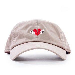 Heartbroken Dad Hat Baseball Hat Tan